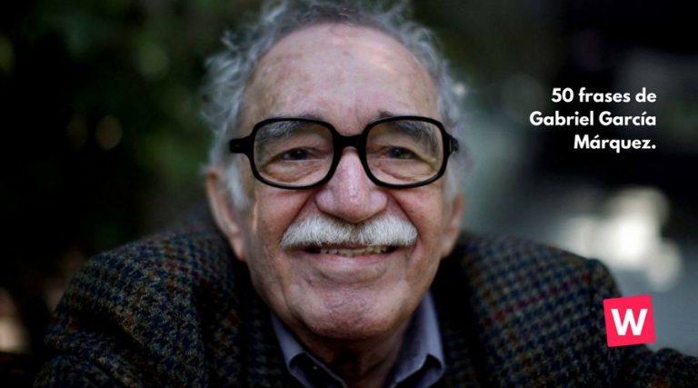 50 frases de Gabriel García Márquez.